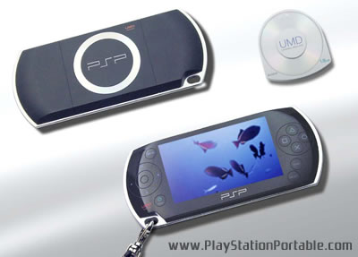 Official Concept Design of SONY PSP